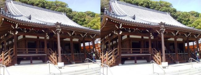 須磨寺 本堂(平行法)