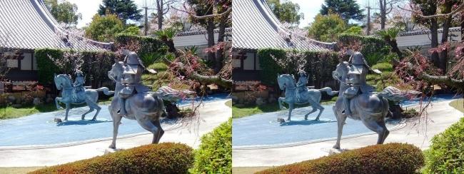 須磨寺 源平の庭③(交差法)