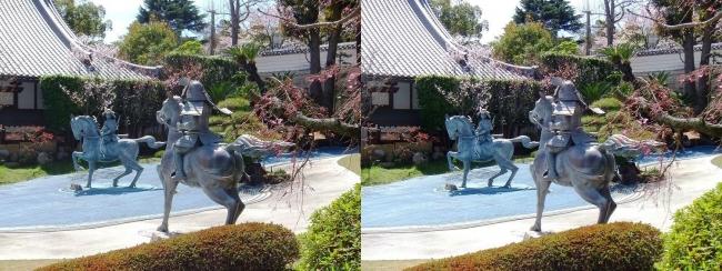 須磨寺 源平の庭③(平行法)