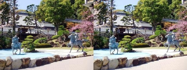 須磨寺 源平の庭①(平行法)