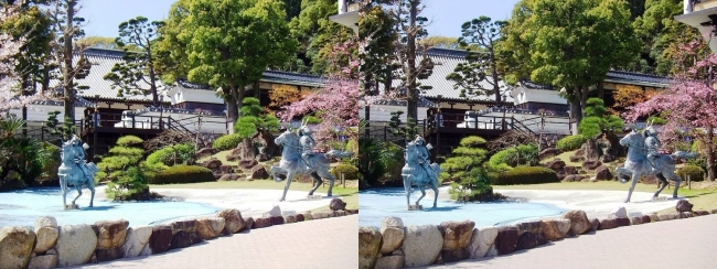 須磨寺 源平の庭①(交差法)