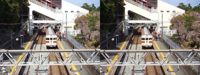 須磨浦公園駅①(交差法)