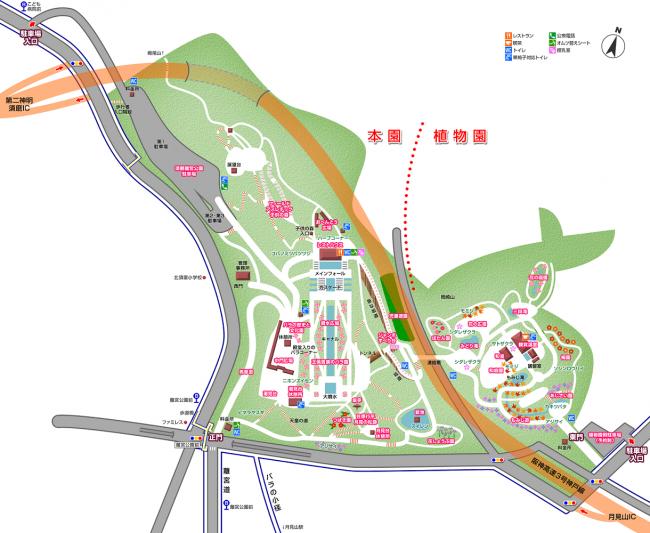 須磨離宮公園MAP