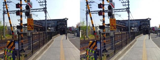 JR法隆寺駅②(平行法)