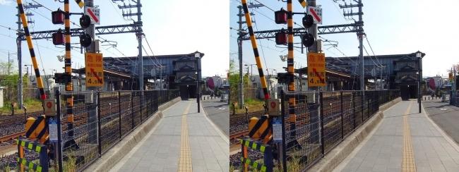 JR法隆寺駅②(交差法)