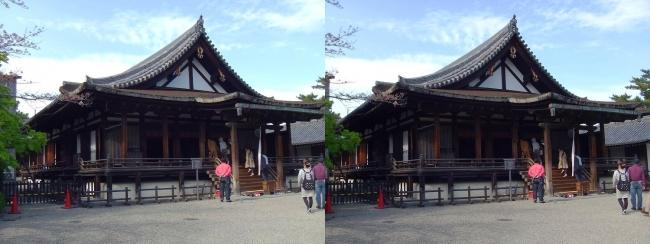 法隆寺 聖霊院(交差法)