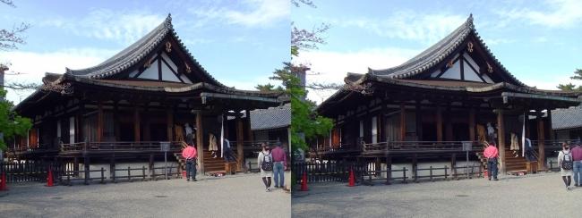 法隆寺 聖霊院(平行法)