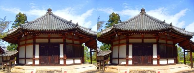 法隆寺 西円堂①(交差法)
