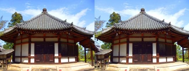 法隆寺 西円堂①(平行法)