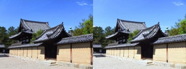 法隆寺 弥勒院(平行法)