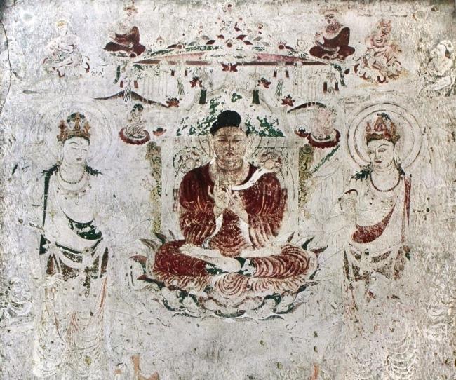 法隆寺金堂壁画 別品の祈り