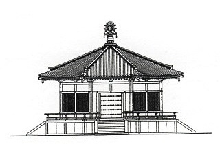 奈良時代の創建時の法隆寺