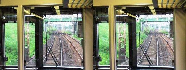 京阪特急車窓(平行法)