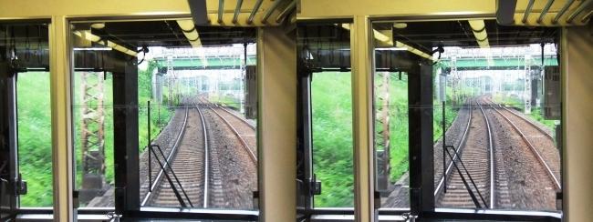 京阪特急車窓(交差法)