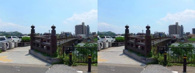 宇治橋①(交差法)