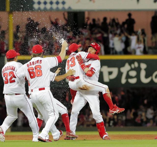 広島-巨人 2016.8.7 サヨナラ勝ち