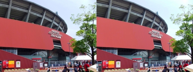 MAZDA ZOOM-ZOOM スタジアム 広島 2016.8.5①(平行法)