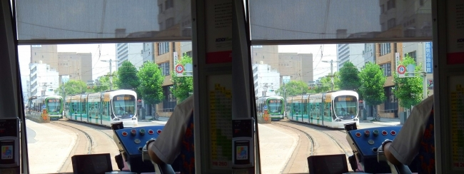 広島電鉄(交差法)