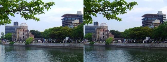 原爆ドーム おりづるタワー 2016.8.6(交差法)