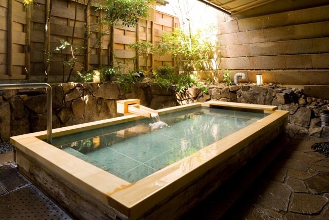 宮島グランドホテル有もと 露天風呂