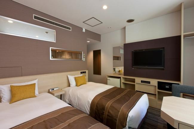 宮島グランドホテル有もと エコノミーツイン