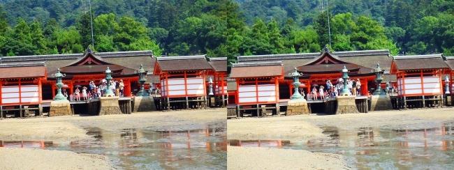 御笠浜 嚴島神社④(平行法)