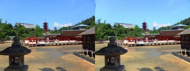 西松原 嚴島神社(平行法)