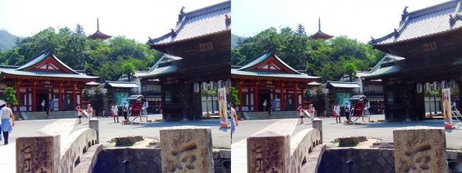 嚴島神社 宝物館 大願寺山門 多宝塔(交差法)