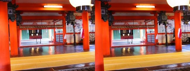 嚴島神社 本社 本殿 弊殿 拝殿(交差法)