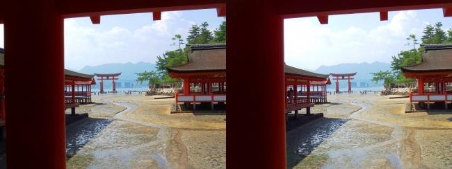 嚴島神社 東回廊④(平行法)