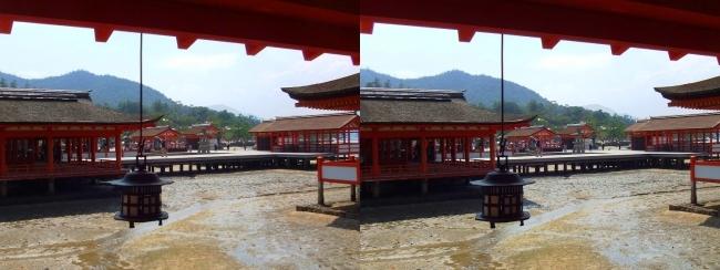嚴島神社 東回廊③(平行法)