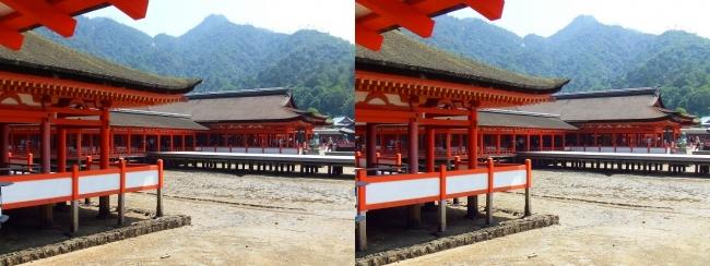 嚴島神社 東回廊①(平行法)