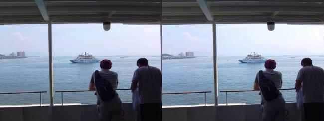JR宮島フェリー②(平行法)