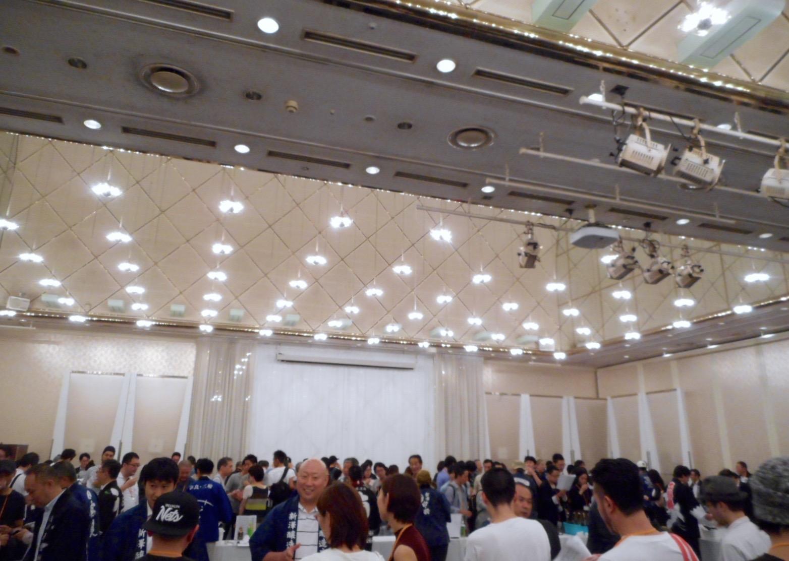 マチダヤ試飲会2016会場2