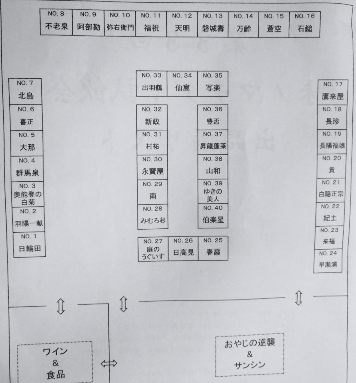 マチダヤ試飲会2016会場6