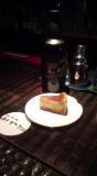 山崎18年とチーズケーキ
