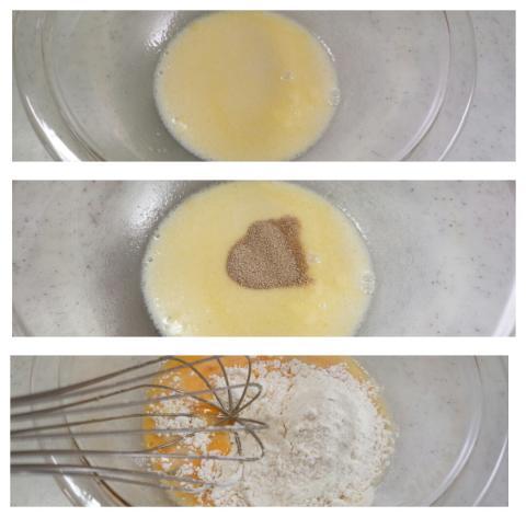 イーストパンケーキ作り方2