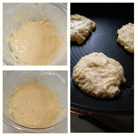 イーストパンケーキ作り方3