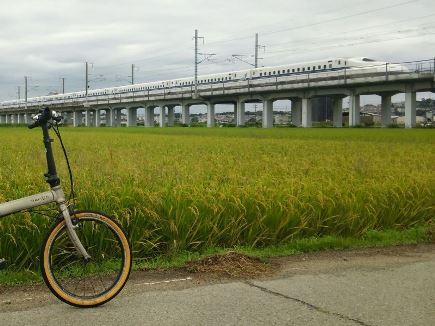 自転車と新幹線1