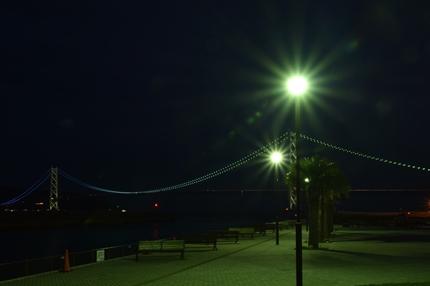 明石海峡大橋夜景1