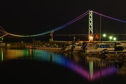 明石海峡大橋夜景2