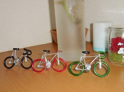 自転車ミニチュア