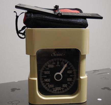 携帯バッグ計量