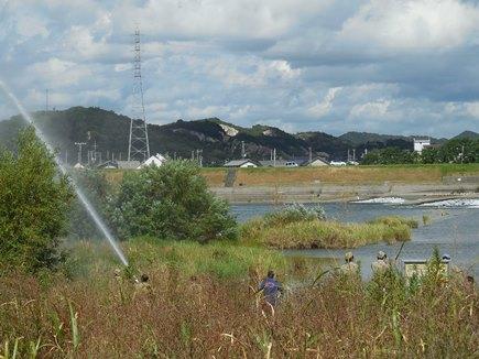 加古川消防訓練