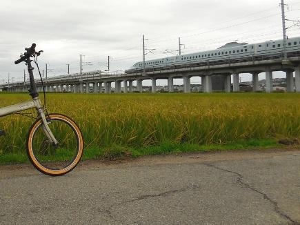 自転車と新幹線2