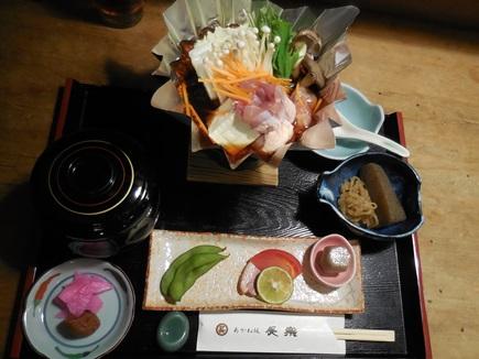 鶏すき鍋ランチ