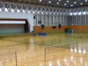 苫小牧市総合体育館内