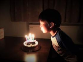 子レガ7歳誕生日4