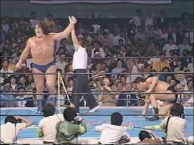 第1回IWGP猪木vsアンドレ