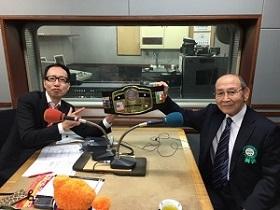 新間氏と清野アナ